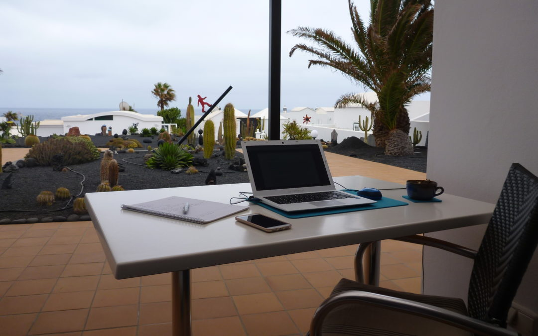 Home Office am Meer