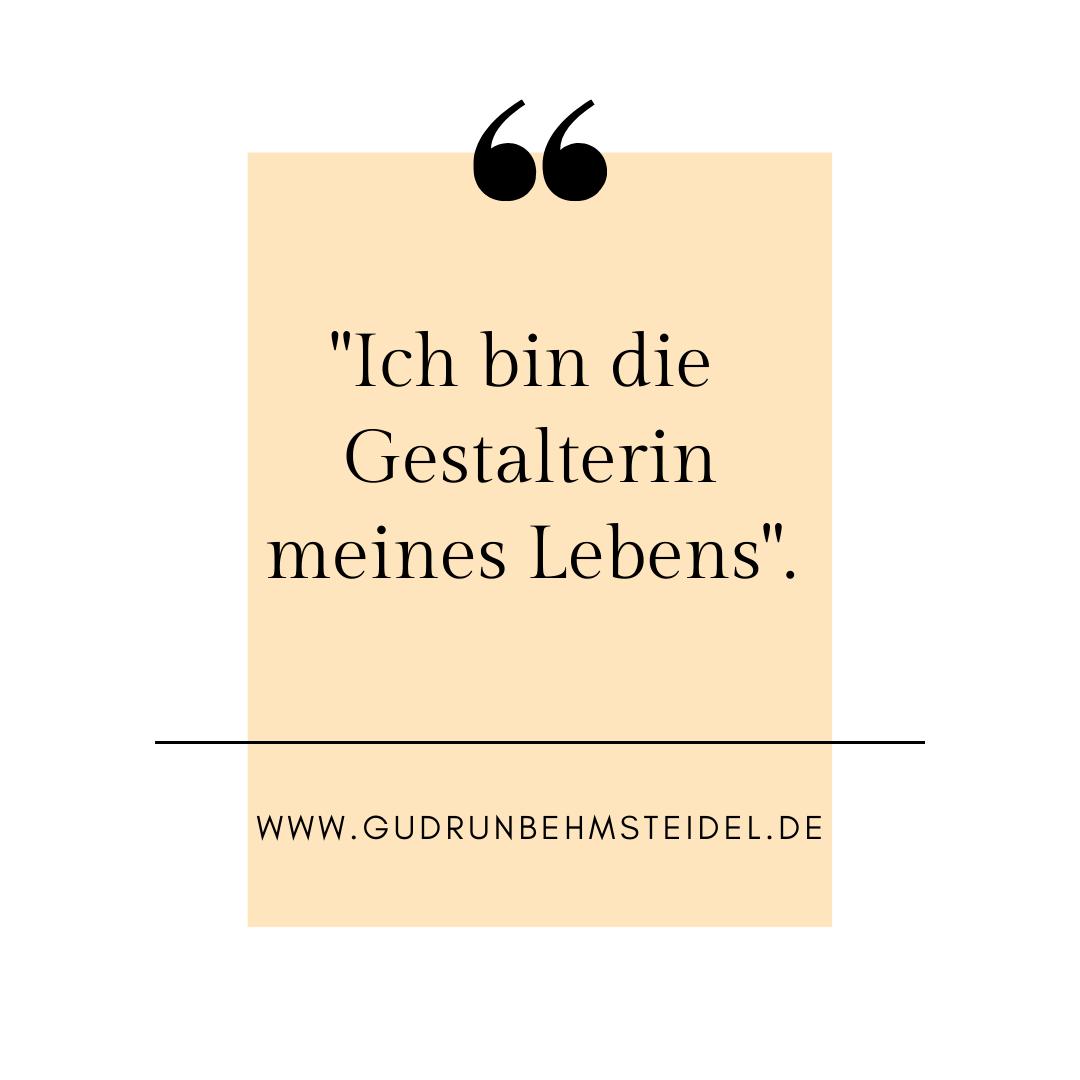 Mein Motto für das Jahr 2021 - Gudrun Behm-Steidel Coaching